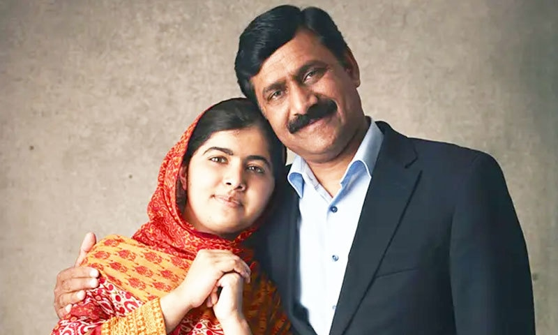 شادی سے متعلق بیٹی کی بات کو سیاق و سباق سے ہٹ کر پیش کیا گیا، والد ملالہ