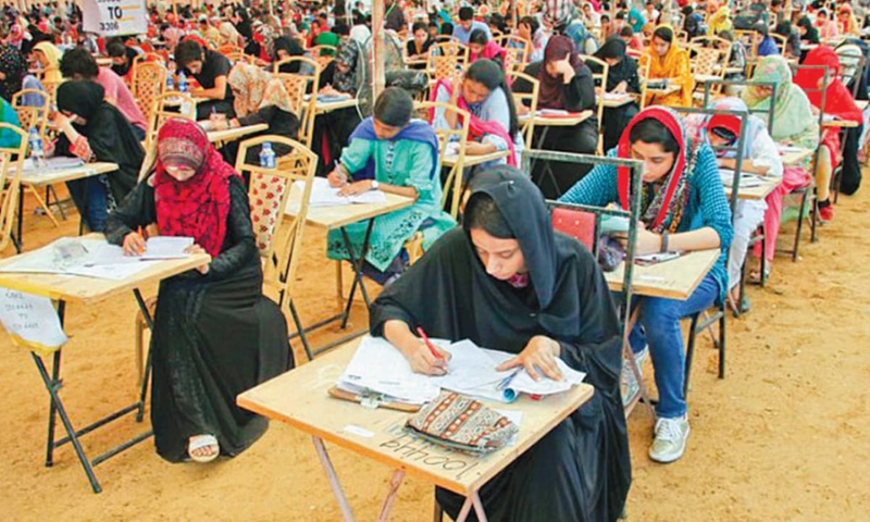 The examination will take place from Aug 30 to Sept 30 2021 in 20 designated cities across Pakistan and in selected cities abroad depending on registration by the students, stated the Pakistan Medical Commission. — INP/File