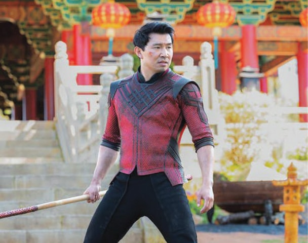 Simu Liu plays the title character in the upcoming film Shang-Chi and the Legend of the Ten Rings