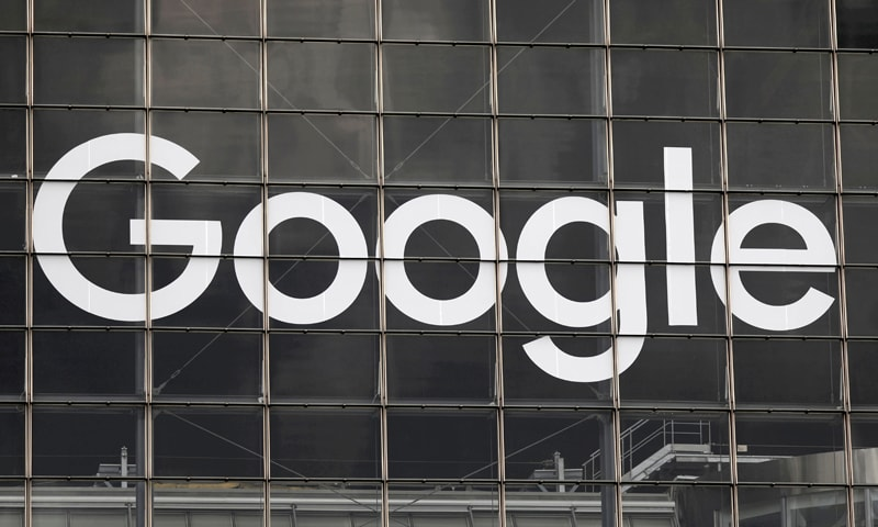 In this file photo,  the logo of Google is seen on a building at La Defense business and financial district in Courbevoie near Paris, France. — Reuters