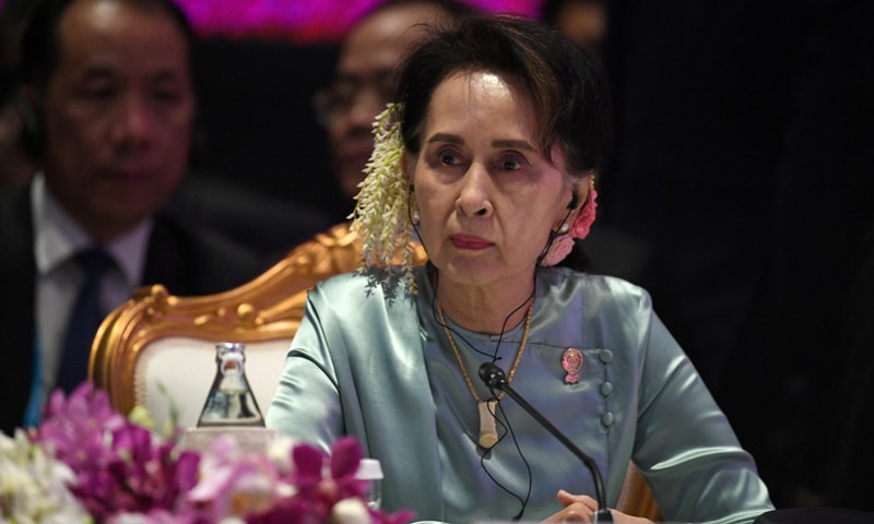 Suu Kyi's lawyers have been allowed to meet with her just twice since she was placed under house arrest, with weeks of delays to her legal case. — Reuters/File