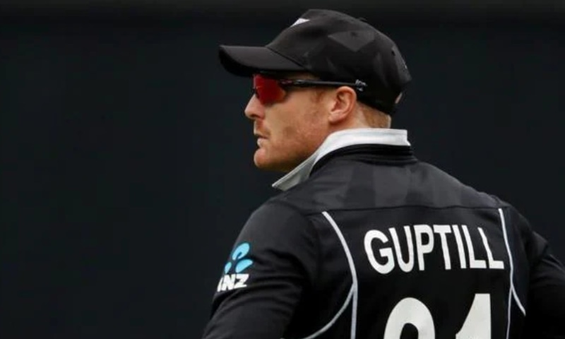 This file photo shows New Zealand opener Martin Guptill. — Reuters/File
