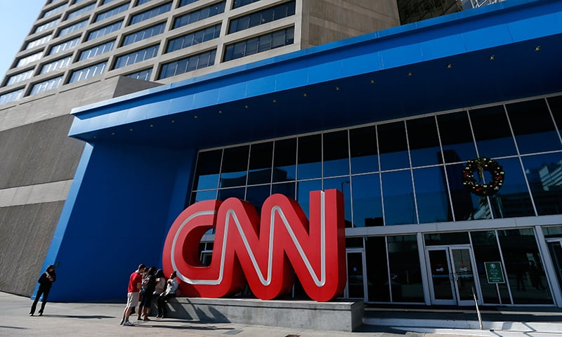 Error messages appeared on the websites of CNN and other international publications. — AFP/File