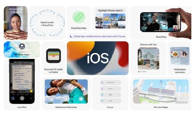 ایپل کے آئی فونز کے نئے آپریٹنگ سسٹم کو پیش کردیا گیا