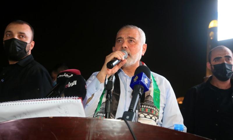 حماس کے سربراہ مصر پہنچ گئے—فوٹو: رائٹرز