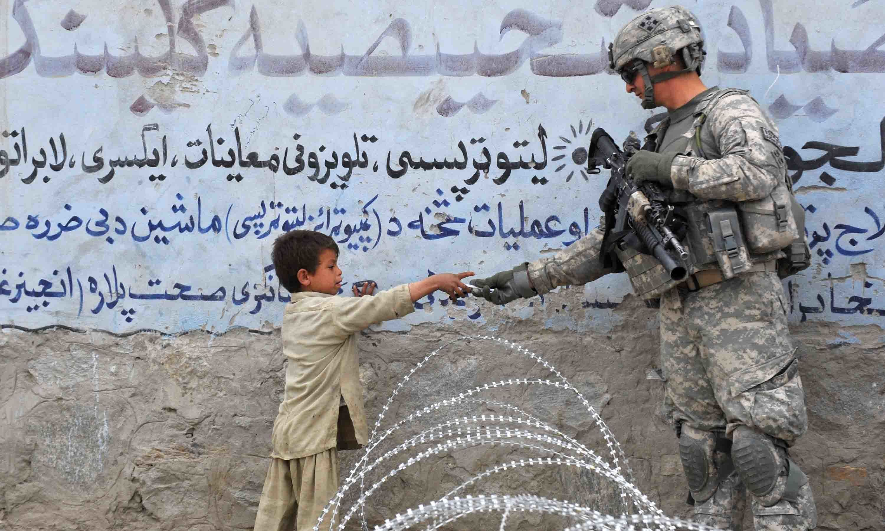 The US pullout from Afghanistan is more than 50 per cent complete, the Pentagon said on Tuesday, as it approaches its Sept 11 deadline to remove troops. — AFP