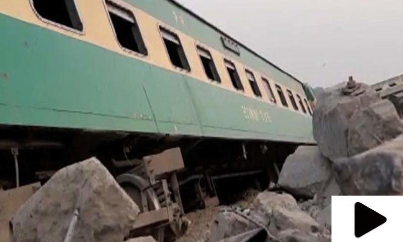 سندھ: ایک اور ٹرین کی بوگی پٹڑی سے اتر گئی