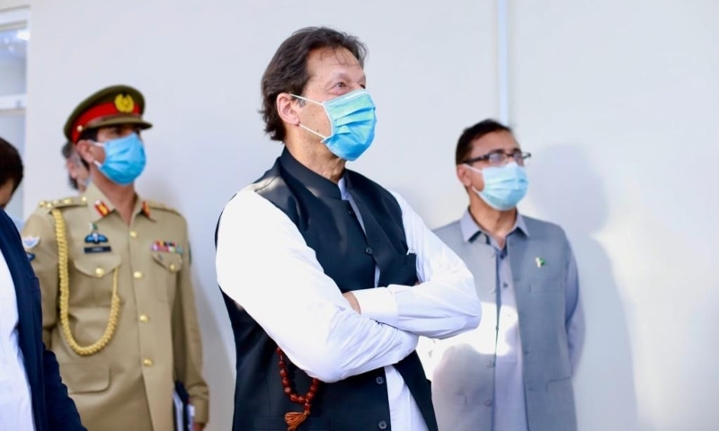 Prime Minister Imran Khan on Wednesday said the government had formulated a comprehensive strategy to pull poor and weaker segments of society out of poverty. — Photo courtesy Prime Minister's Office