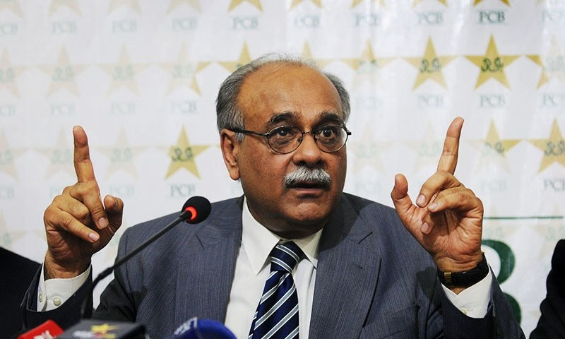 Former Pakistan Cricket Board (PCB) chairman Najam Sethi said matters such as telecasting an international cricket series featuring Pakistan never needed any approval from the cabinet in the past. — AFP/File