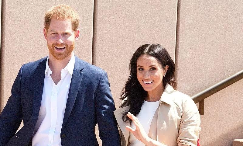 شہزادہ ہیری و میگھن مارکل بیٹی کے نام سے متعلق غلط خبر پر برہم