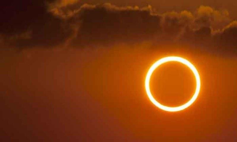 دنیا بھر میں سال 2021 کا پہلا سورج گرہن