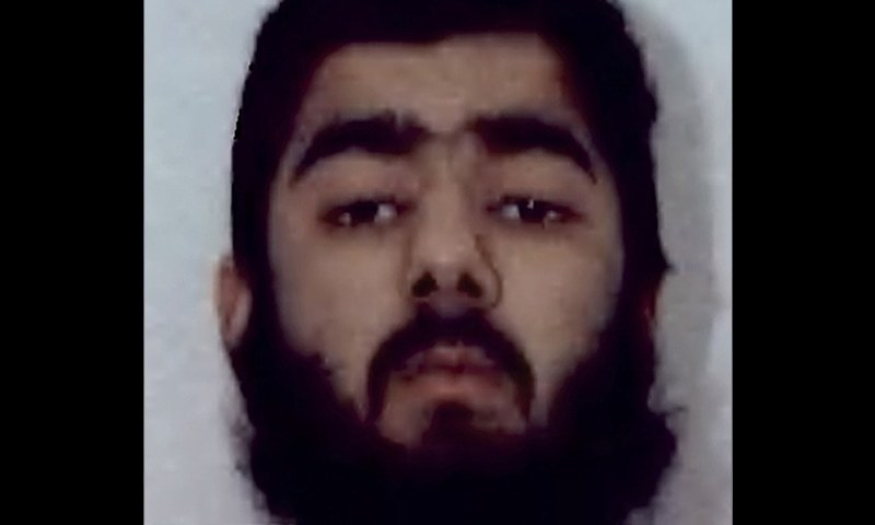 This undated file handout photo obtained from West Midlands Police on February 1, 2012 shows Usman Khan, then 20, who was jailed on February 9, 2012 with others after admitting to being involved with a group of fundamentalists who plotted a spate of mail bomb attacks during the run-up to Christmas in 2010. — AFP/File