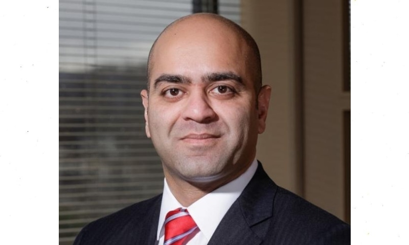 The US Senate voted on Thursday to advance the nomination of Zahid Quraishi, a son of Pakistani immigrants, to be a federal judge in the US Court, New Jersey. — Photo courtesy Rutgers Website