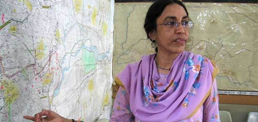 Rahman, who had dedicated her life for the development of impoverished localities, was gunned down near her office in Orangi Town on March 13, 2013. — File