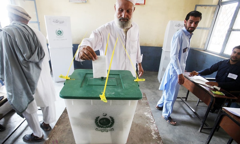 The authorities have decided to hold local bodies' elections in Gilgit-Baltistan in the current year. — AP/File