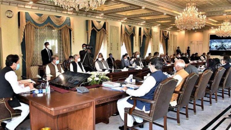 اجلاس میں فنانس ڈویژن نے وزیر اعظم عمران خان کو بجٹ سے متعلق بریفنگ دی—فائل فوٹو: اے ایف پی