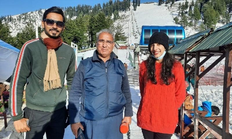 شیرین زادہ کے ساتھ، مالم جبہ سوات