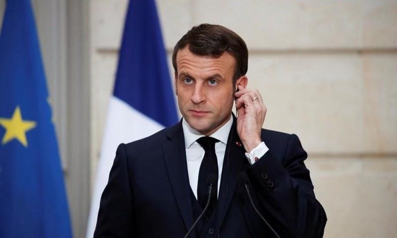 فرانس کے صدر کو تھپڑ مارنے والے شہری کو 4 ماہ قید کی سزا