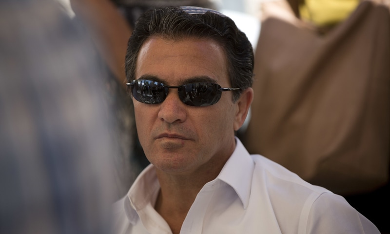 In this July 3, 2016, file photo, Yossi Cohen, then the director of Israel's Mossad intelligence agency, attends a funeral in Jerusalem. — AP/File