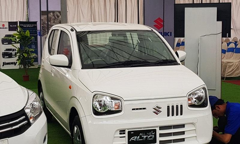 بجٹ اقدامات سے چھوٹی کاروں کے خریداروں کو قیمتوں کے لحاظ سے فائدہ پہنچے گا — تصویر: سوزوکی فیس بک