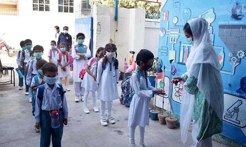 سندھ میں چھٹی سے آٹھویں جماعت کی کلاسز 50 فیصد حاضری کے ساتھ کھولنے کا فیصلہ