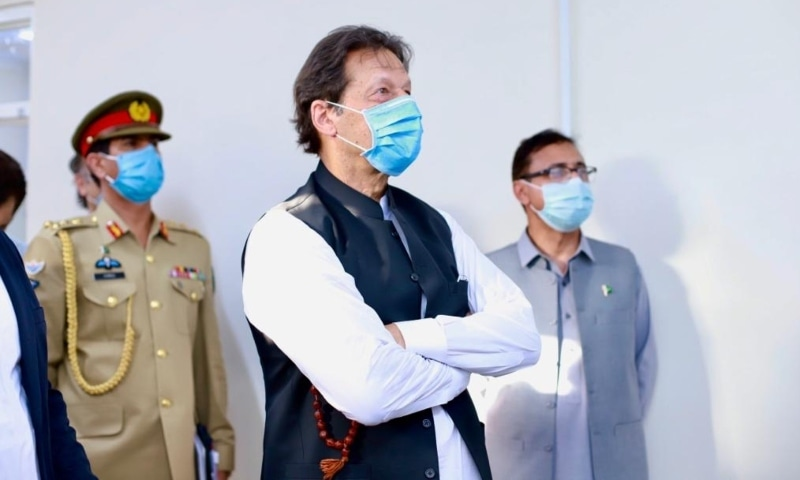 Prime Minister Imran Khan on Monday said the government would focus on uplifting the economy to improve the condition of the common man. — Photo courtesy Prime Minister's Office Twitter