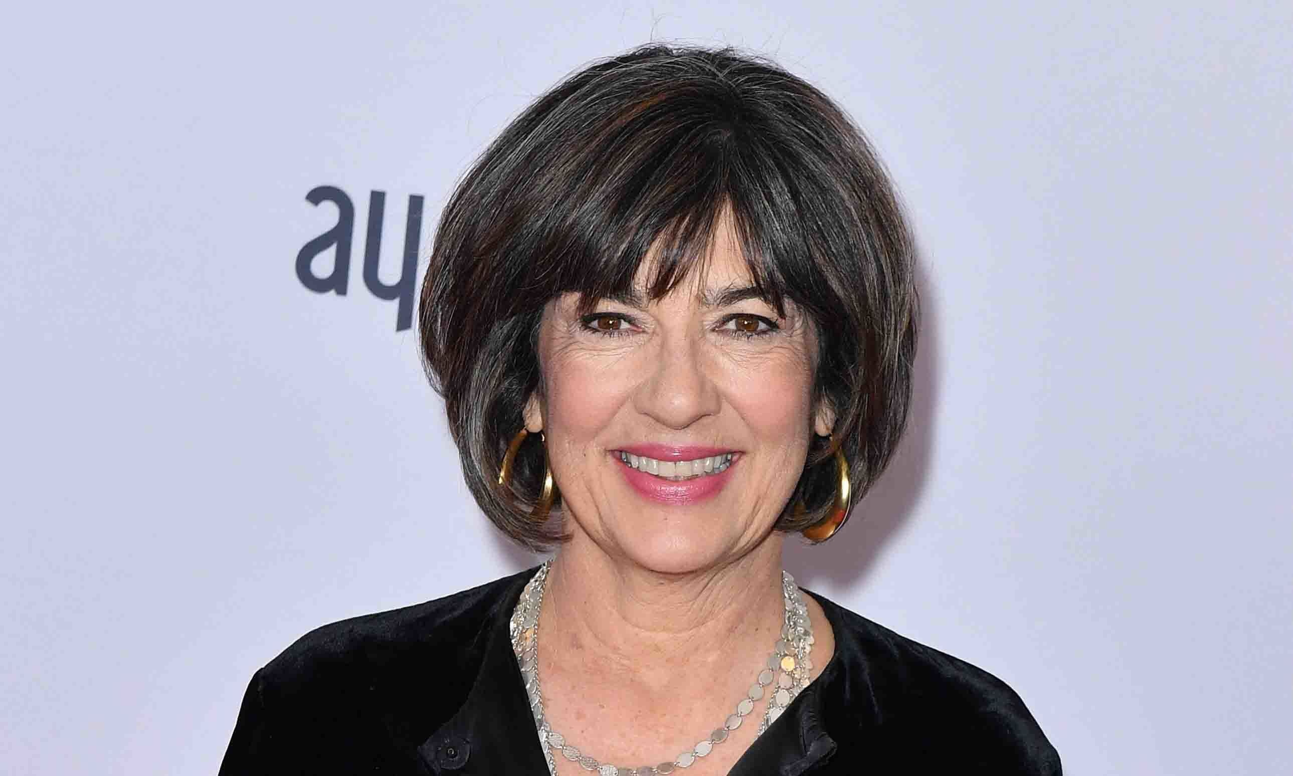 In this file photo, Christiane Amanpour arrives for the 47th Annual International Emmy Awards at New York Hilton in New York City. — AFP