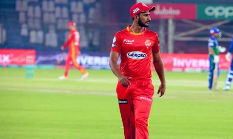 Islamabad United fast bowler Hasan Ali has decided to stay for the rest of the HBL Pakistan Super League after resolving an undisclosed family matter. — Photo courtesy Twitter/File