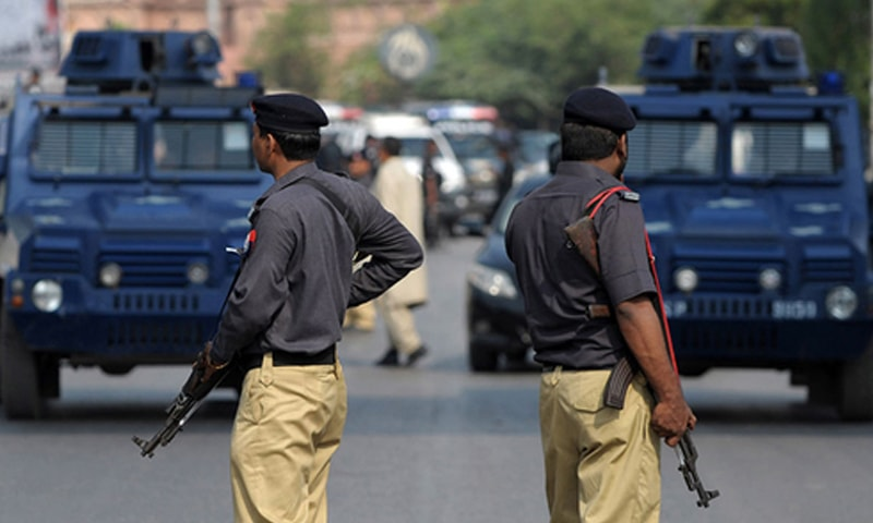 Last year, the Sindh government had announced over nine per cent increase in the budget for security in the province, fixing it at Rs109.788bn, with a promise to recruit 3,000 policemen. — AFP/File