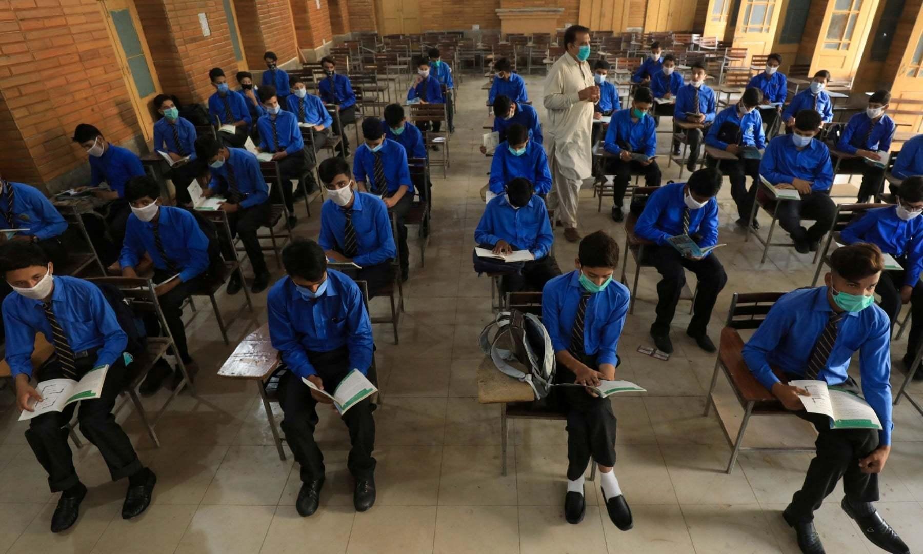 سندھ: اختیاری مضامین میں فیل ہونے والے طالبعلم کو پاسنگ مارکس دینے کا فیصلہ