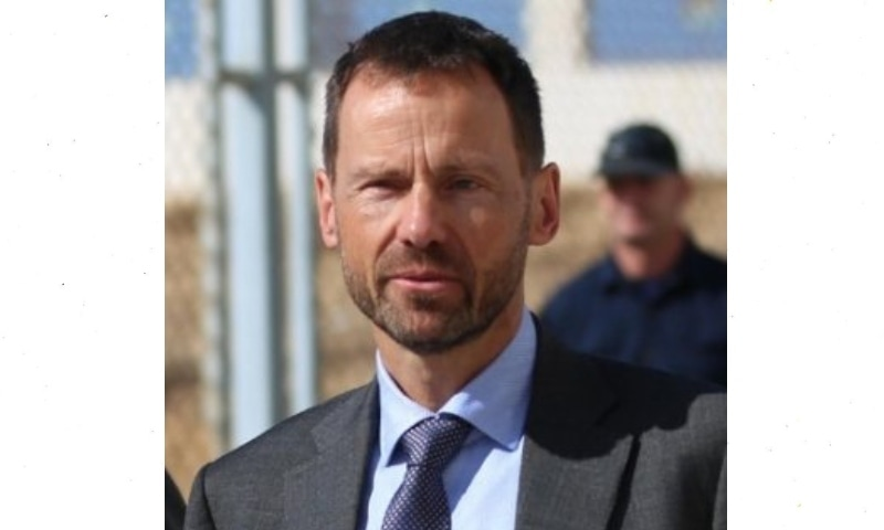 European Union's Special Envoy for Afghanistan Tomas Niklasson on Wednesday warned of surge of violence in Afghanistan. — Photo courtesy Twitter