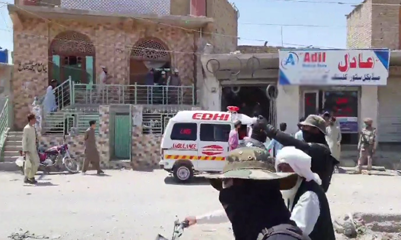 A man was injured in an IED explosion close to a seminary near Satellite Town here on Wednesday. — DawnNewsTV/File