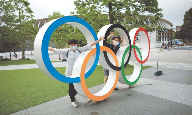 The Olympics have already been postponed by a year amid concerns over how organisers can keep volunteers, athletes, officials and the Japanese public safe when they begin after a fourth wave of infections. — Reuters/File