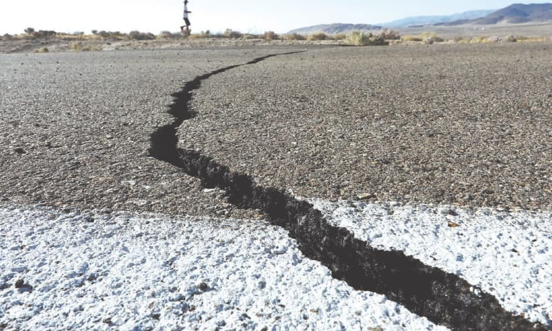 زلزلے کا مرکز مینگورہ تھا—فائل/فوٹو: رائٹرز