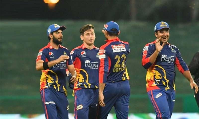 پی ایس ایل 2021: قلندرز کو شکست، سنسنی خیز مقابلے کے بعد کراچی کنگز کامیاب