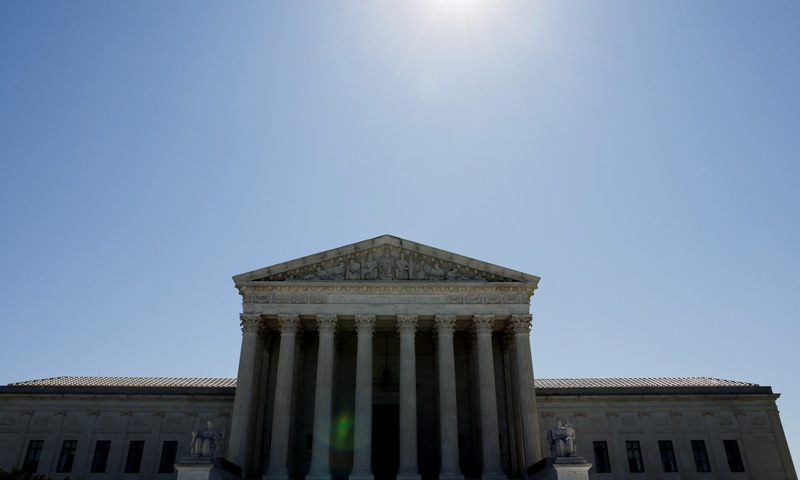 The US Supreme Court building is seen on the day justices rejected a Republican bid that had been backed by former President Donald Trump's administration to invalidate the Obamacare healthcare law. — Reuters