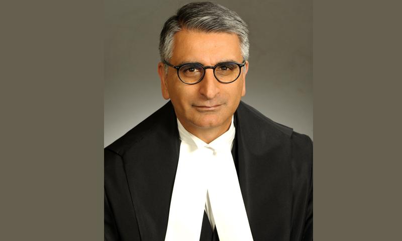 محمود جمال اونٹاریو 2019 سے کورٹ آف اپیل جج کی ذمے داریاں نبھا رہے ہیں— فوٹو: کمرشل فیڈرل جوڈیشل افیئرز کینیڈا