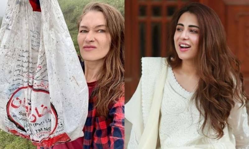 ہنزہ میں آلودگی کی نشاندہی پر اشنا شاہ کی روزی گیبریل پر تنقید