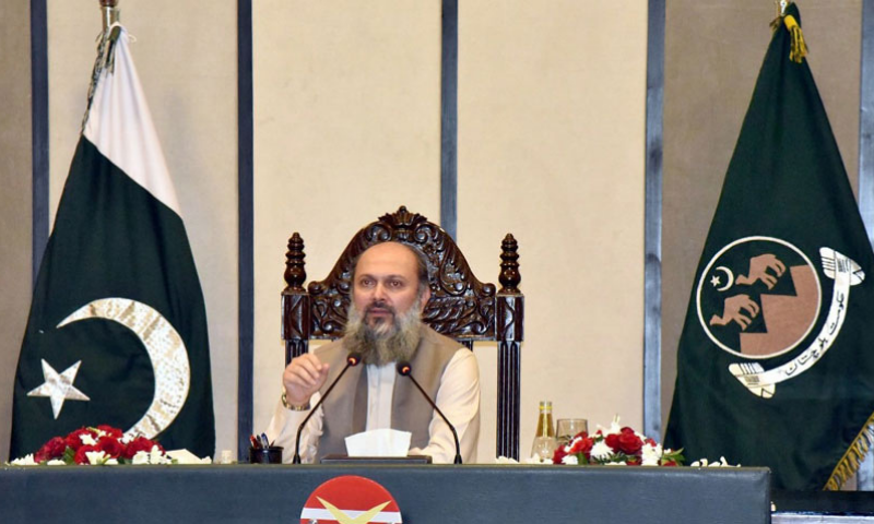 Balochistan Chief Minister Jam Kamal Khan Alyani said all opposition parties, including BNP-Mengal, had put their ideology at stake just for a few development schemes. — Radio Pakistan/File