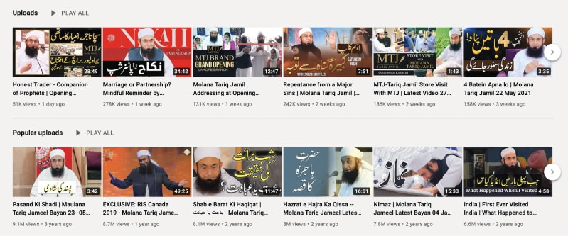 The Maulana has a huge YouTube following