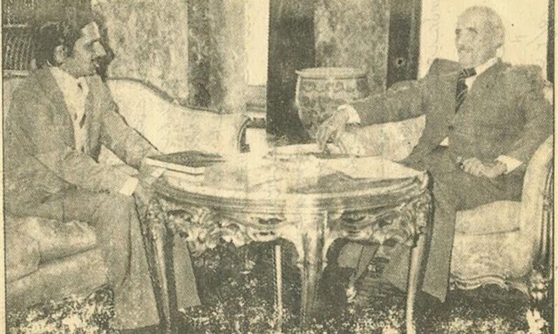 مجاہد بریلوی، افغان صدر نور محمد ترہ کئی کے ساتھ