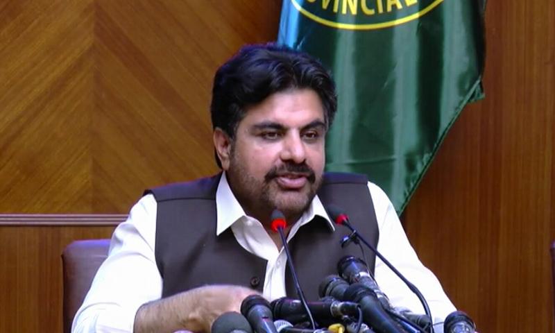 وزیراطلاعاتر سندھ ناصر حسین شاہ—فائل فوٹو: ڈان نیوز