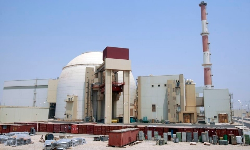 A general view of the Bushehr main nuclear reactor, 1,200 kilometres south of Tehran, Iran, August 21, 2010. — Reuters/File