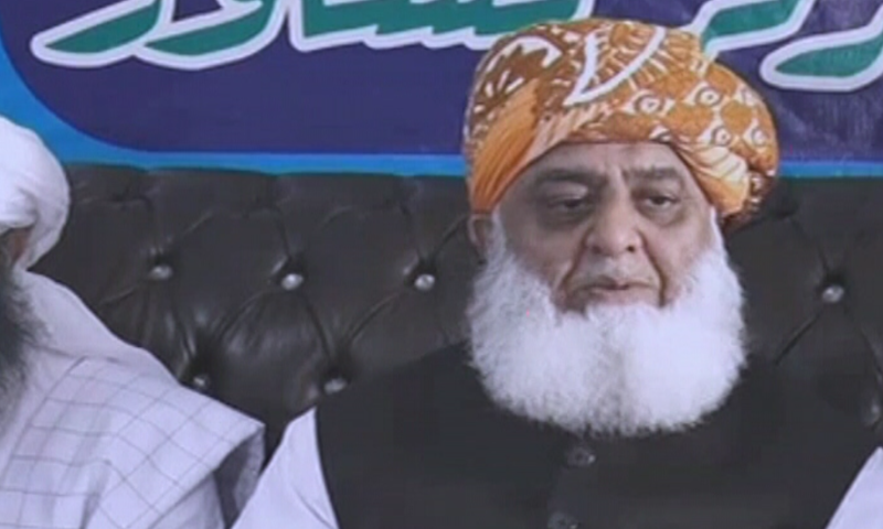 Maulana Fazlur Rehman has said that army and intelligence agencies should stay away from the election process, as police are enough to provide security during the polls. — DawnNewsTV