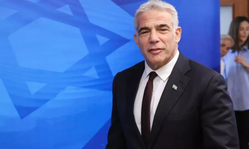 Foreign Minister Yair Lapid will inaugurate the Israeli Embassy in Abu Dhabi and the Consulate General of Israel in Dubai. — AFP