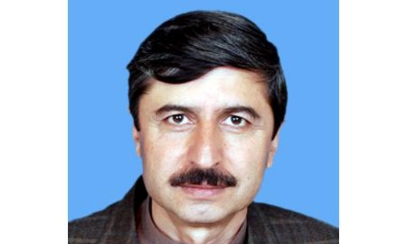 Pakhtunkhwa Milli Awami Party leader Usman Khan Kakar. — Photo courtesy Senate website