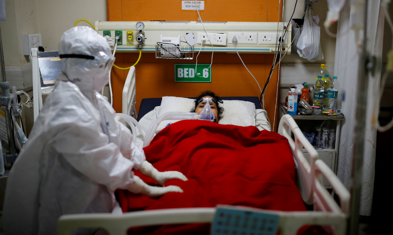 کووڈ کے بحران کے ساتھ بھارت میں بلیک فنگس کی وبا تیزی سے پھیلنے لگی