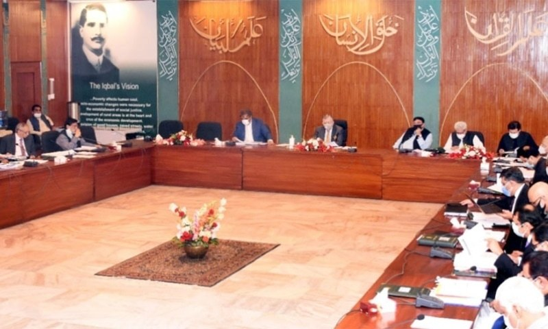 The Economic Coordination Committee (ECC) of the Cabinet on Monday continued sanctioning supplementary and technical supplementary grants so that these could be approved by the National Assembly along with the federal budget 2021-22. — Photo courtesy Radio Pakistan/File