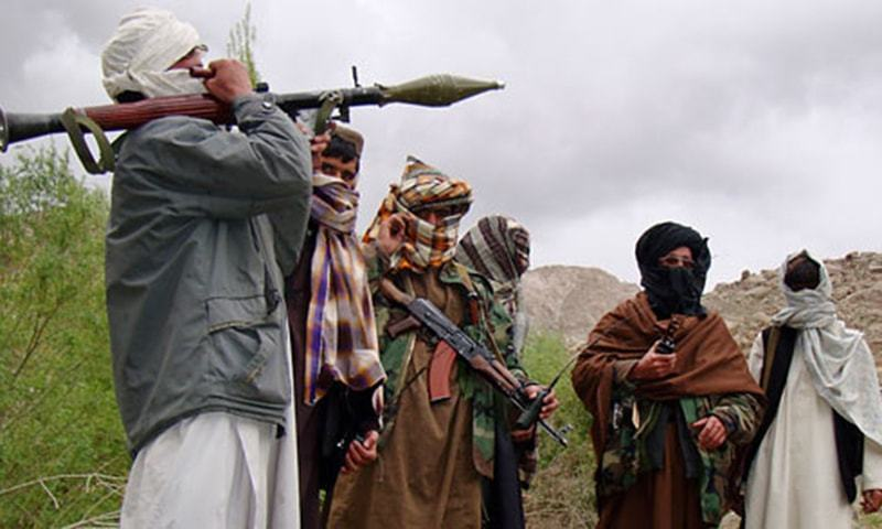 This file photo shows the Taliban after they established control in Kunduz in 2015. —Reuters/File