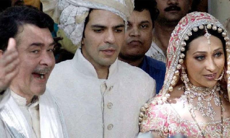 کرشمہ کپور نے 2003 میں صنعت کار سنجے کپور سے شادی کی تھی—فائل فوٹو: فیس بک